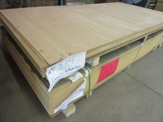 CROSS GRAIN MAPLE MDF VENEER SHEET GOODS