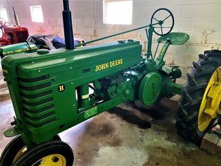 John Deere Model H Tractor