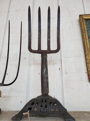 OLD HAY FORK ON STAND