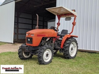 2002 Jinma 284 MFWD tractor, shows 4,095 hours, 28