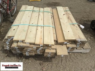 Pallet of misc 1? x 5? boards