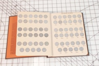 Jefferson Nickel Collector's Book- Nearly Complete