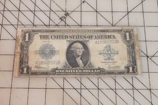 1923 Blue Seal $1 Silver Certificate