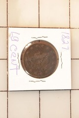 1827 Liberty Head Large Cent