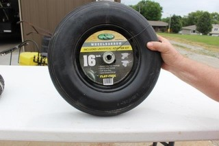 Wheelbarrow Tire & Wheel