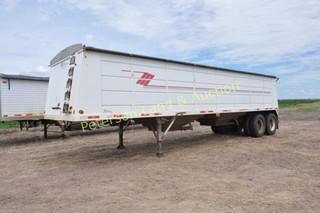 1998 Maurer 34? steel grain trailer
