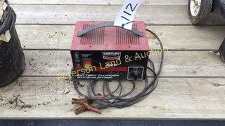 Century 10 AMP Battery Charger - Untested