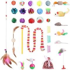 VANFINE 30PCS Cat Toys Set for Small, Medium,