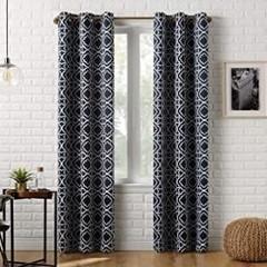 Sun Zero Barnett Trellis Blackout Grommet Curtain
