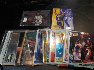 30 Basketball Star Cards...