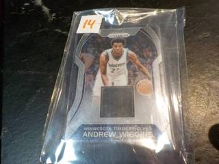 Andrew Wiggins Jersey Card...