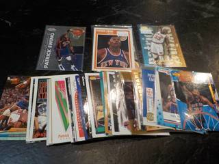 50 Patrick Ewing Cards...