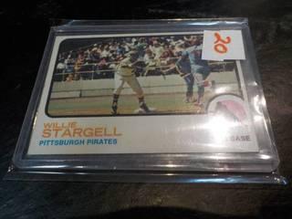1973 Wilie Stargell Topps Card...