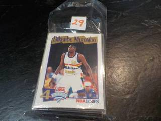 50 Dikembe Mutombo Cards...