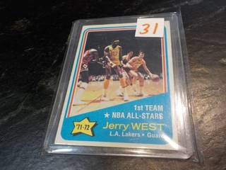 1973-74 Topps Jerry West Cards...
