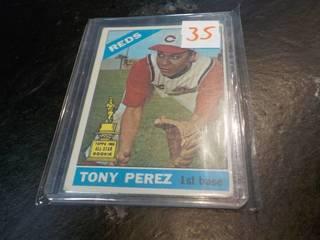 1965 Topps Tony Perez Card...