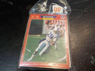50 Football Star Cards...