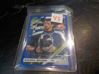 Russell Wilson Cards...