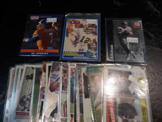 25 Quarterback Cards...