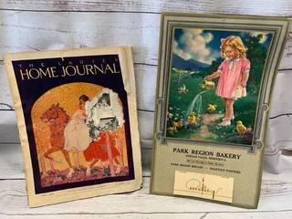 1922 (200 pages) Ladies Home Journal & 1940 Calendar