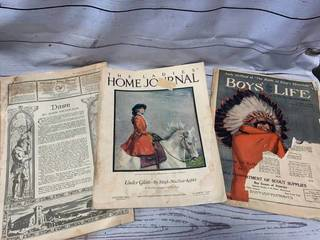 Ladies Home Journal 1919 & 1923 Plus 1925 Boys Life