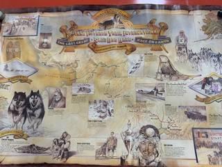 1990 Iditarod Poster