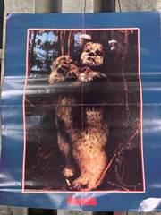 Vintage 1983 Ewoks Star Wars Poster