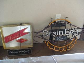 2- GRAIN BELT SIGNS