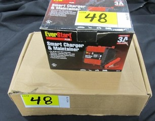 Lot - EverStart Battery & Lithium Battery Chargers