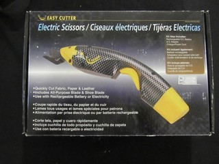 Lot - Electric Scissors & Mroinge Battery Charger
