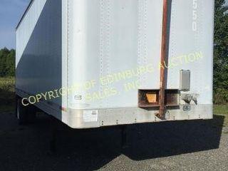 2000 TRAILMOBILE 28' S/A ALUMINUM ENCLOSED BOX TRA