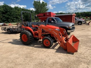 2017 Kubota L2501 HST tractor