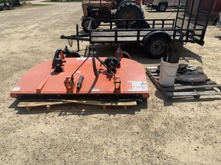Land Pride RCD 1884 rotary mower parts missing