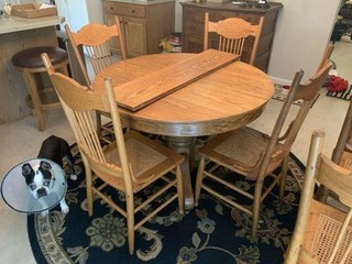 Oak Round Kitchen Table And Chairs