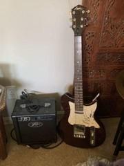 Autographed Lyon by Washburn LI15 Electric Guitar