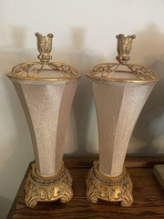 Pair of Decorator Table Lamps