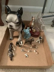 Lot of Assorted Dog Figurines