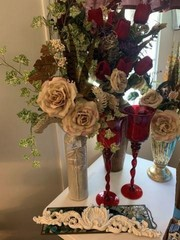 Lot of Assorted Floral Arrangements