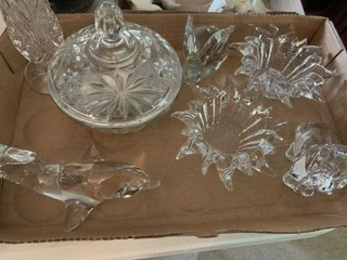 Lot of Crystal Collectibles