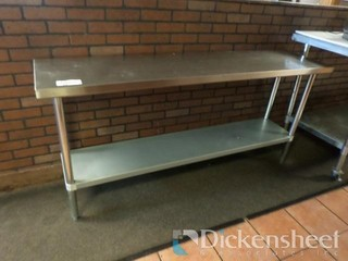 Stainless Steel Table Approx. 72