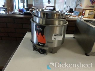 Cayenne Table Top Food Warmer