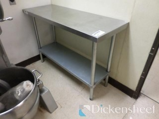 Stainless Steel Table, approx. 48