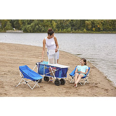 Outdoor Spirit Folding Wagon with Tabletop and Chairs