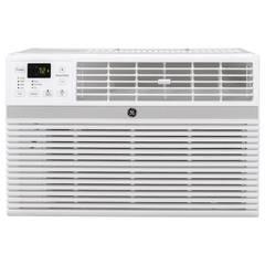 GE 12,100 BTU 115-Volt Smart Window Air Conditioner with Remote in Gray