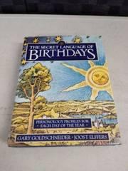 the secret language of birthdays book