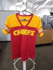 NFL woman chiefs blouse medium