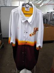 fabulous Harlem Globetrotters men's jersey 6x platinums fubu