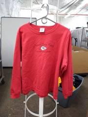 NFL cheifs sweatshirt woman's 1x