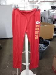 NFL chiefs pants woman's large
