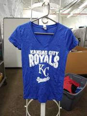 live and tell royals t-shirt woman's large
